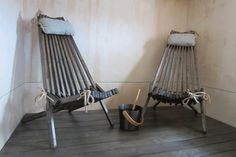 NorDeck ALDER (pictured here waxed in black wax), naturally reddish in color, soft and moisture tolerant for spas, saunas etc. Wooden Garden Chairs, Deck Chairs, Outdoor Chairs, Outdoor Furniture, Outdoor Decor, Nordic Chic, Saunas, Kentucky, Balcony