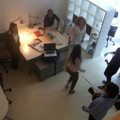 In my #coworking days I see quite a lot of journalists!