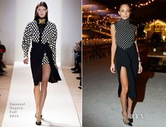 Nicole Richie In Emanuel Ungaro - Curiosity Opening Dinner the wrap skirt! the old balenc shoes! I can't.