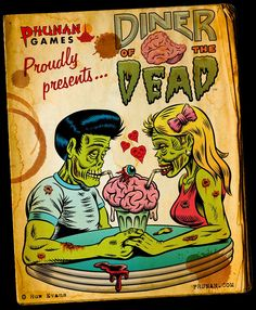 Rockabilly zombie couple (Joe & Kat)