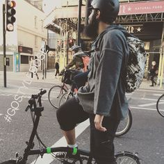 Looks like #brompton is the new cool ! #GOSTYLEDOSE Your daily dose of London cycle street style by Jacqui Ma #cyclestyle #cyclechic #bikestyle #cyclestyle #eastlondon #hackney #whyibike #singlespeed #spaceforcycling #instabike #bicycles #fixie #bikeinthecity #bikepretty #bike #foldingbike #cycletowork @brompton_russia @bluebrompton @brommieyummie @bromptonbicycle #bromptonbicycle