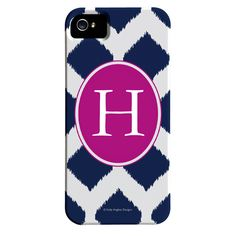 Ikat Monogrammed iPhone 5 Case