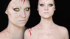 Hecate Makeup Tutorial | How to Make Scars WITHOUT Prosthetics!