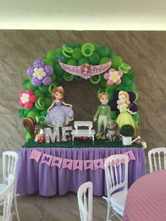Sofia the First Birthday Party Ideas | Photo 2 of 5