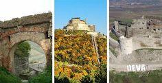 Cetatea Devei - un impresionant monument medieval, emblema a orasului Visit Romania, Mount Rushmore, Medieval, Mountains, Nature, Travel, Naturaleza, Viajes, Mid Century