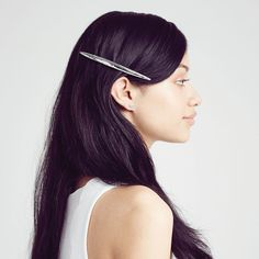 That classic yet modern hairstyle for the fashion forward. Shop the new line of Jen Atkins hair accessories by chloe + isabel now.