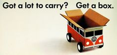 VW BUS: Got a lot to carry? Get a box.