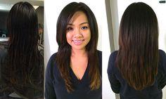 #longhair #thickhair #asianhair #darkhair #layers #longlayers #hair #haircut #vcut #hairbymichlopez