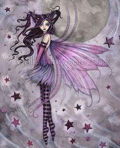 Fairy Art by Molly Harrison - Purple Passion