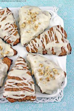 Banana Bread Scones #recipes