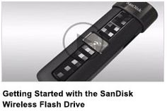 SanDisk released a flash storage device that can actually beam files to and from your devices — without an Internet connection.