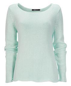 Pistaziengruener pulover