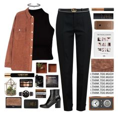 """Untitled #2692"" by tacoxcat ❤ liked on Polyvore featuring River Island, Chloé, Maison Margiela, Carbon & Hyde, Tivoli Audio, Dot & Bo, Gucci, Fujifilm, Elizabeth and James and Smashbox"