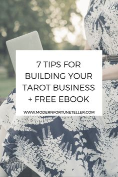 If you are looking to be a spiritual entrepreneur or a professional tarot reader, this post and free ebook is for you.