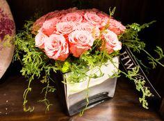 Holiday Warehouse custom rose floral arrangement