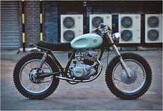 Custom Yamaha SR250   custom bikes Yamaha SR250 Custom built by Auto Fabrica a British Custom bike builder.