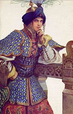 I have decided I need to do some Persian Garb. They have the richest garb. :)