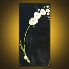 Images For > Easy Flower Acrylic Paintings