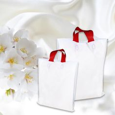 Buy 40 Micron White Colour Retail and Shopping Bags Online From Packing Supply. Various Sizes in Stock. Order Today & Save More!