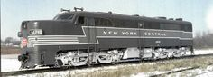 New York Central Alco PA 2250 horse power New York Central Railroad, Railroad Pictures, Train Pictures, Diesel Locomotive, Private Jet, Vintage Artwork, Diesel Engine, Places To Go, United States