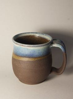Everyday Pottery Mugs Tuscan Yellow by ClayPathStudio