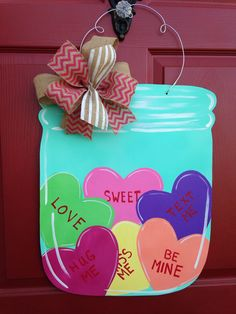 Jar of hearts by LilyPad Designs on Facebook