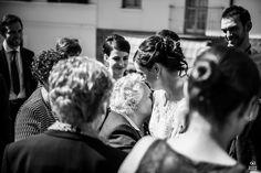 amore di nonna <3  bride, grandmother, wedding, black and white emotion