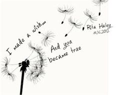 dandelion tattoo - Google Search