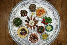Mezze plate - perfect for lots of dishes