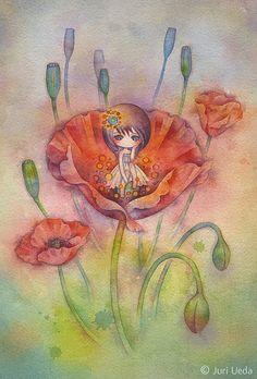 Renace de una flor, muy bella te sugiero la primera de primavera.