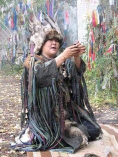 Female kam(shaman) Ay Churek.