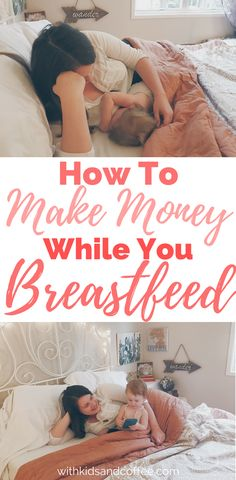 Make money while breastfeeding with these ideas! Great for new moms who are spending time pumping or nursing and want to do something other than watch t. Make Money Writing, Make Money Blogging, Make Money Online, Work From Home Moms, Make Money From Home, How To Make Money, Ma Baker, Teen Money, Breastfeeding And Pumping
