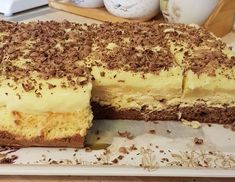 Almás krémes - Oszthatod.Com Tiramisu, Ethnic Recipes, Food, Eten, Tiramisu Cake, Meals, Diet