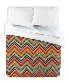 Take a look at this DENY Designs Tribal Chevron Duvet Cover by DENY Designs on #zulily today!