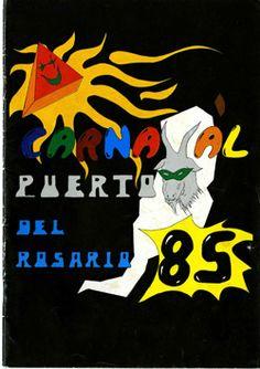 Cartel del carnaval de Puerto del Rosario 1985