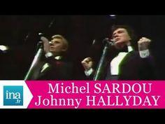 """Johnny Hallyday et Michel Sardou """"Les villes de solitude"""" (live officiel) - Archive INA - YouTube"""