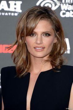 Stana Katic from Castle....Is she beautiful or WHAT?!.