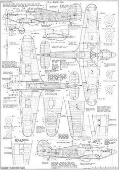 I Sheet 2 aircraft design - aircraft design drawing - aircraft design sketch - a Hurricane Drawing, Hurricane Plane, Plane Drawing, Balsa Wood Models, Hawker Hurricane, Aircraft Painting, Paper Plane, Aircraft Design, Model Airplanes