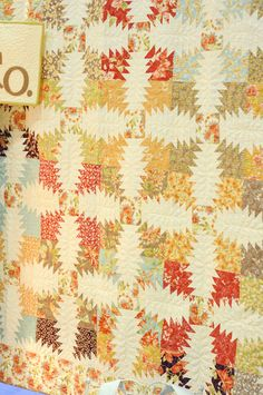 Pineapplefullbest. She has done it again. Another fabulous quilt pattern and fabulous fabric collection Tapestry from Joanna Figueora at Fig Tree Quilts