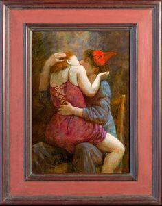 forma es vacío, vacío es forma: Kenne Gregoire ( V ) - pintura