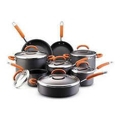 Rachel Ray cook wares - Beyond the Rack......I have 2 sets of her pots/pans/skillets, kitchen utensils and gadgets, and THE BEST oval pasta pot. LOVE her stuff!!!