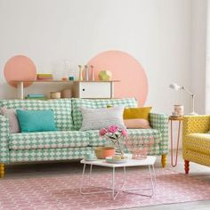 Home interior Design Videos Living Room Hanging Plants Link – Right here are the best pins around Coastal Home interior! Deco Pastel, Pastel Room, Pastel Decor, Pastel Living Room, Interior Pastel, Home Wall Painting, Living Room Decor, Living Spaces, Dining Room
