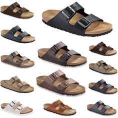 Birkenstock-Classic-Arizona-contoured-footbed-comfy-many-Colors-NEW-Germany