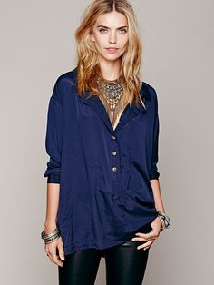 Free People Oversize Tunic, 128.00
