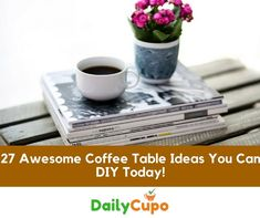 If, like us, you love making coffee at home, you'll want a fabulous place to serve it! There are a lot of coffee tables out there, but how about creating something with a personal touch?A DIY coffee table can give you something unique at a fraction of the high street price. So are you ready …
