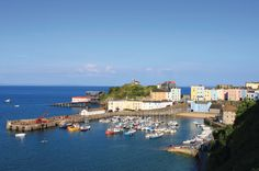 Tenby, near Pendine Sands Holiday Park, Carmarthen, Wales
