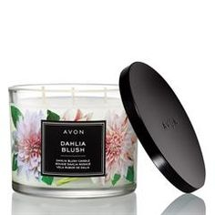 Enjoy the sweet scents of AVON's Dahlia Blush Candle. Shop this candle and fill your home with its unique and welcoming scent buy now. Avon True, Fall Candles, Home Scents, New Fragrances, Skin So Soft, Decorating Tips, Avon Catalog, Catalog Online, Body Care