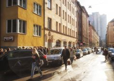 Stockholm • Sweden - The most central street of Sweden, Bondegatan, in the heart of SOFO. - Photo by Danne Eriksson