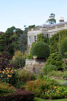 Mount Stewart gardens, Ireland.