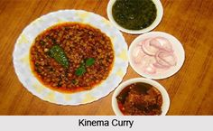 Kinema is a traditional fermented soybean food having characteristic stringy property with unique flavour, commonly consumed as a main side-dish curry served along with cooked rice in meals. For the recipe visit the page. #food #recipe #vegetarian